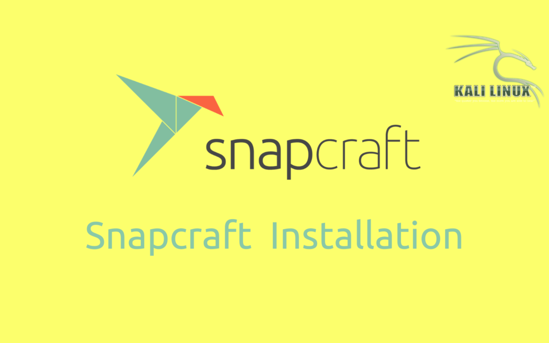 Installation of Snap in Kali Linux