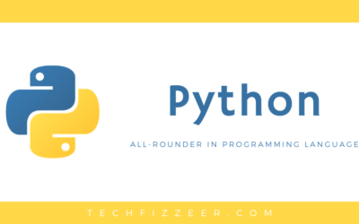 Python – All-Rounder in Programming World