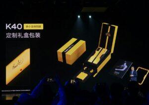 Redmi K40 Game Enhanced Bruce Lee customized version