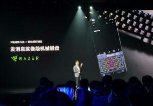 The event introduces Razer × Redmi custom keyboard skin.