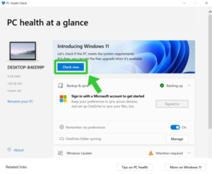 Windows 11 Requirements: Check your PC Compatibility